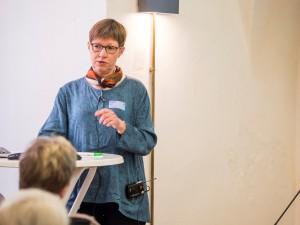 Ved epilepsihøringen på Christiansborg i december deltog Astrid med et oplæg om sin liv.